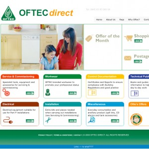 OFTEC Direct website