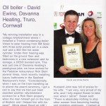 Oil Installer magazine - Dave Ewins