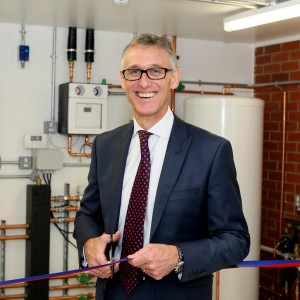 Worcester Bosch training centre opened by Carl Arntzen